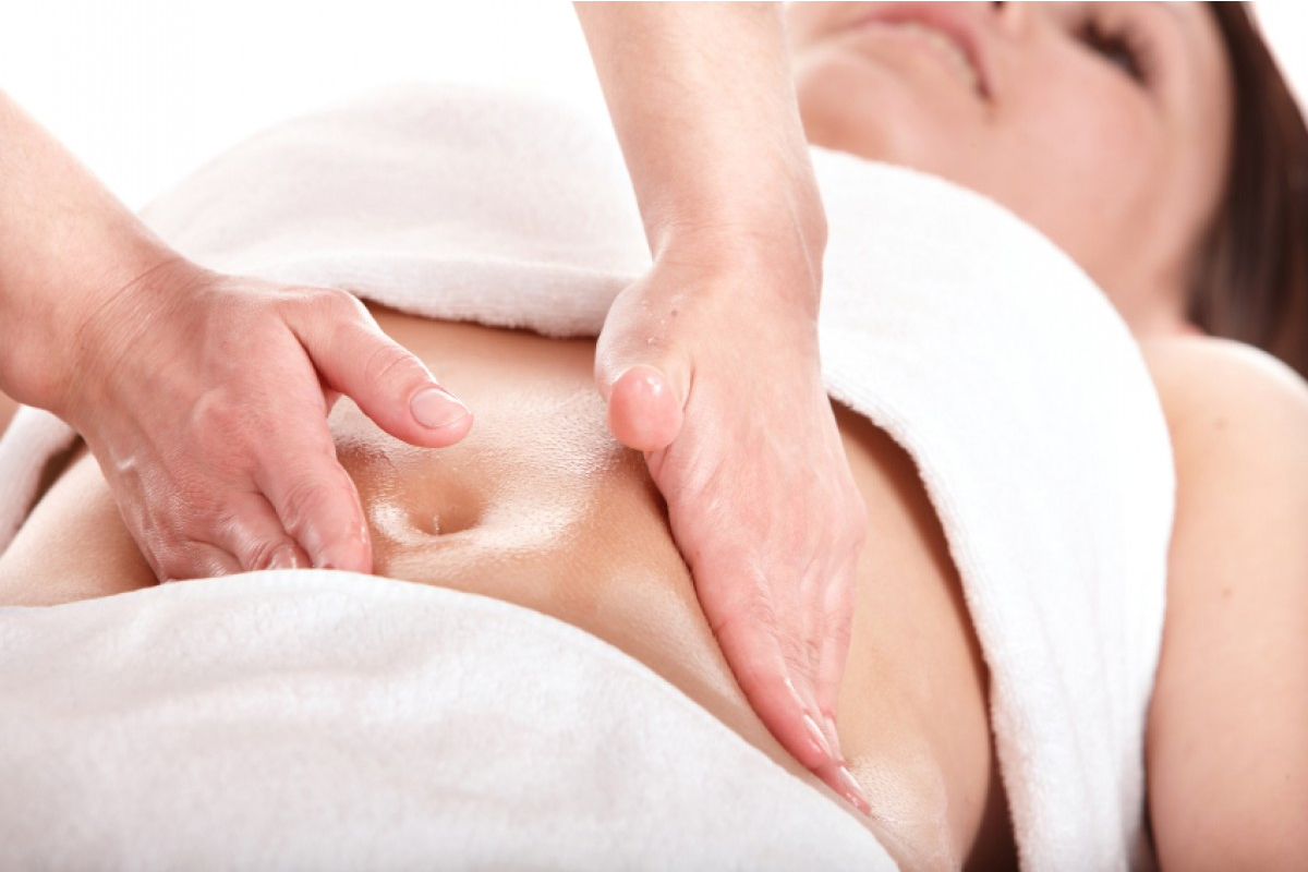 Дренажный массаж живота в домашних условиях